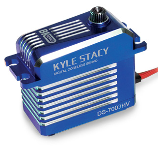 BK High Speed, High Voltage - Kyle Stacy Edition- Coreless Servo